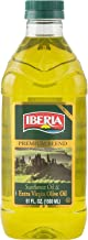 Iberia Extra Virgin Olive Oil & Sunflower Oil Blend, 51 oz, High Heat Frying, All Purpose Cooking Oil, Baking & Deep Frying Oil from Spain, Kosher