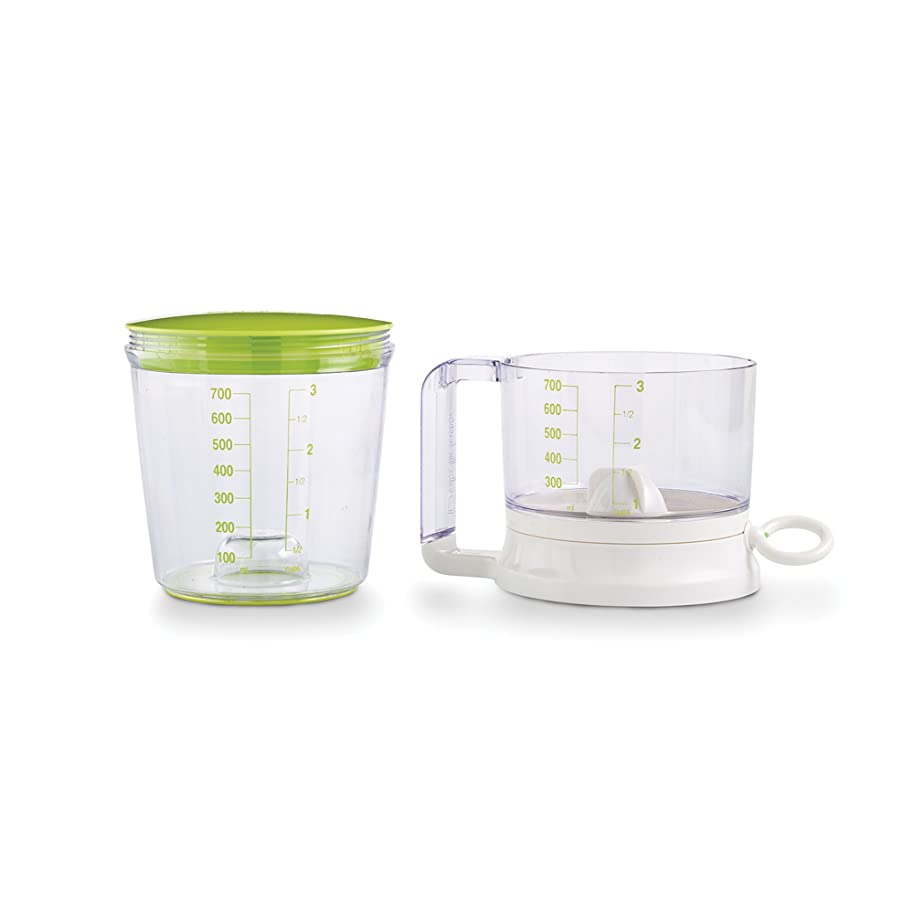 Bakelicious 73856 Swift Sift with Pull Cord, Bright Green