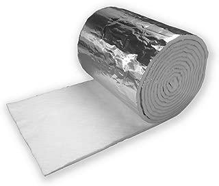Lindemann Superwool Plus Insulation Blanket, Foil Faced - 1/2