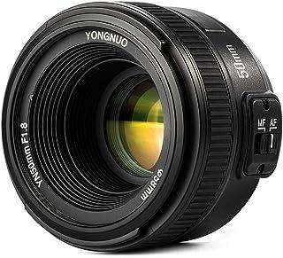 YONGNUO 50mm F18 Lente YN50MM Objetivo Large Aperture Auto Focus Lens para Canon EOS DSLR Cámara Fotografía