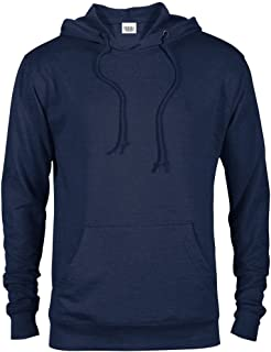 Casual Garb Fleece Hoodies for Men Lightweight Fitted Heather French Terry Pullover Hoodie Hooded Sweatshirt