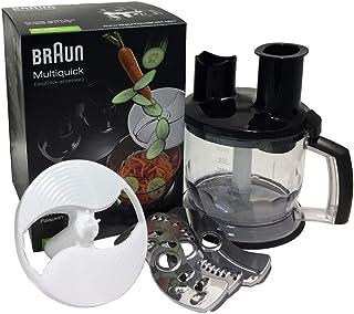 Braun köksmaskiner Top MQ 70 – handmixer tillbehör kompatibel med Braun MultiQuick handmixer med EasyClick System, 1,5 l, ...