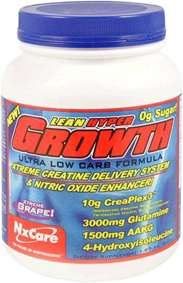 NxCare Lean Hyper Growth Xtreme Direct store Nit Delivery Ranking TOP1 and System Creatine