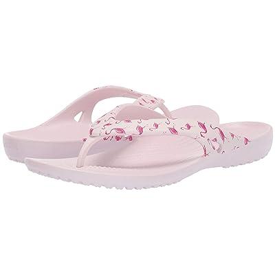 Crocs Kadee II Seasonal Flip (Flamingo/Barely Pink) Women