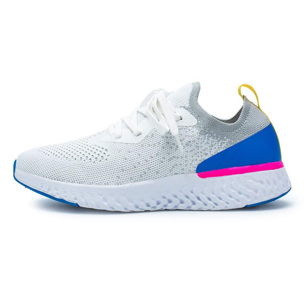 TOYS Zapatillas Running Mujer Zapatos Zapatillas Deportivas Mujer Zapatos De Malla Transpirables Y Ligeros Cordones para Correr Asfalto Aire Libre Deportes Calzado,Blanco,35: Amazon.es: Hogar