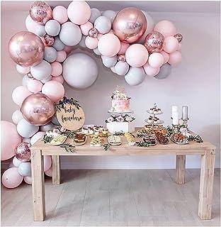 LEKANI 100 Pieces Balloon Garland Kit Balloon Arch Garland for Wedding Birthday Party Decorations ¡ Multi