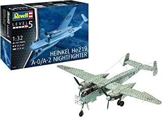 ドイツレベル 1/32 ドイツ軍 ハインケル He219 A-0 夜間戦闘機 プラモデル 03928