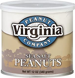 VIRGINIA PEANUT PEANUT SEA SALT, 12 OZ
