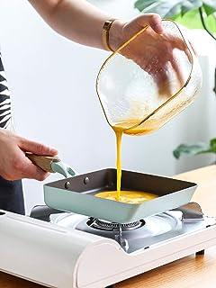 Sartén, Panqueques, Huevos Fritos, Filete, Sartén Antiadherente, Cocina de Inducción, Sartén Pequeña, Sartén Asada Pequeña Yuzi Asada