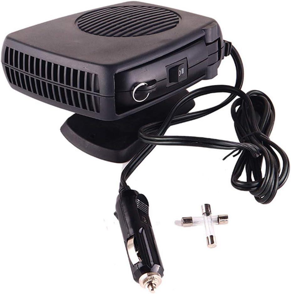12V Car Truck Portable Auto Heater Heat Cooling Fan Defroster Demister Water DE