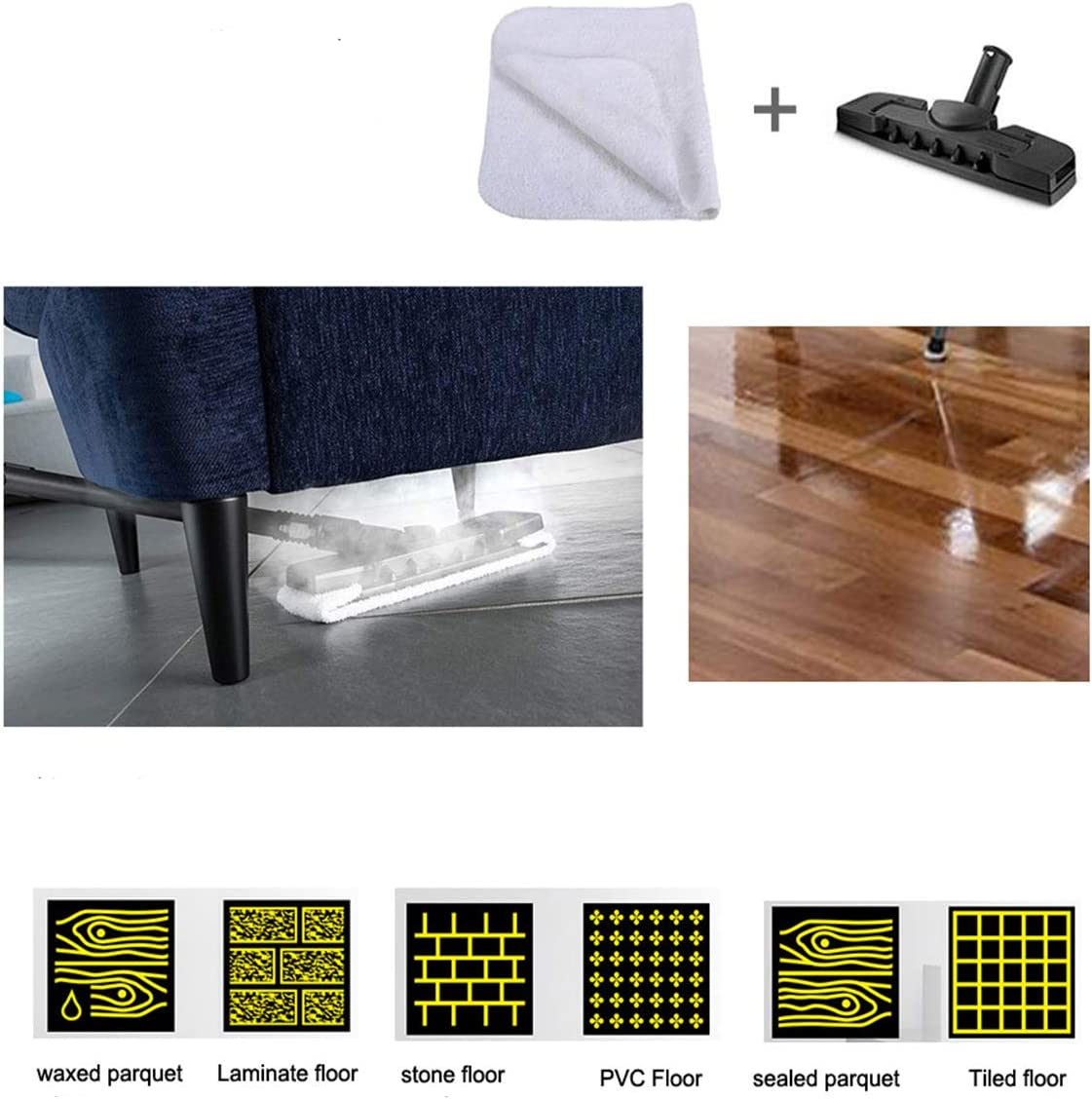 Steam Cleaners, Steam Mops & Accessories Home & Kitchen SC5 Steam ...
