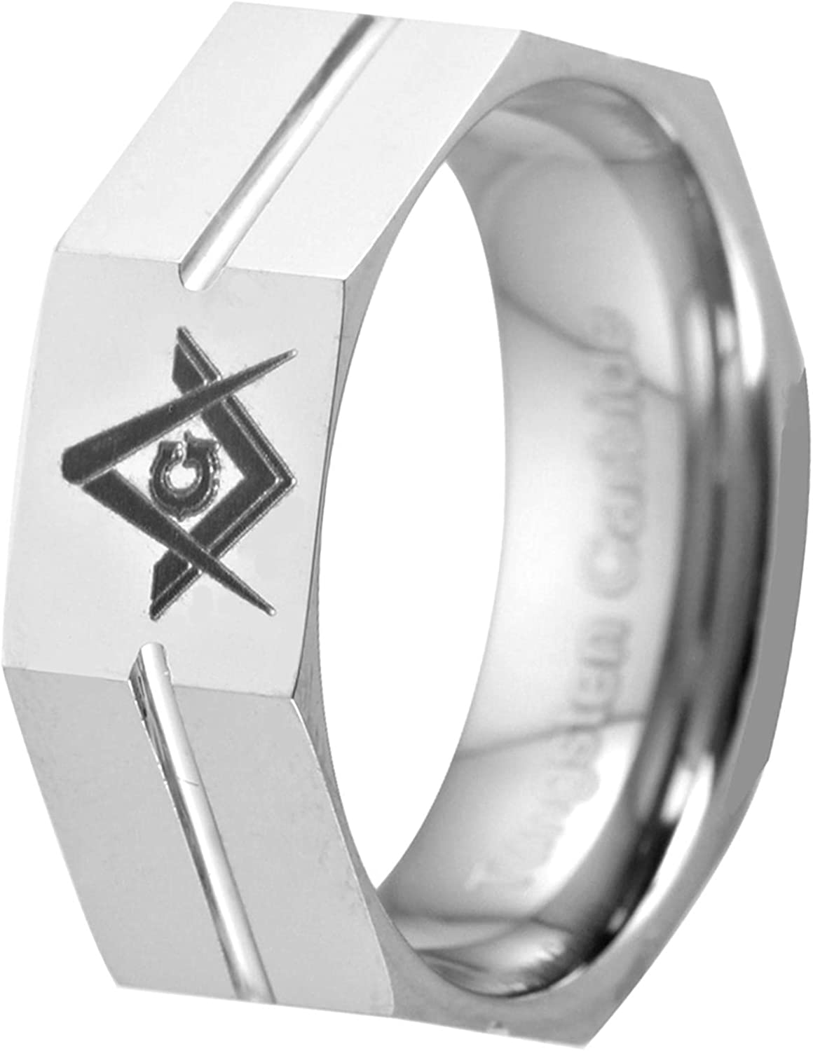 Carbide Masonic Max 72% OFF Band Max 52% OFF Rings Gifted Box With