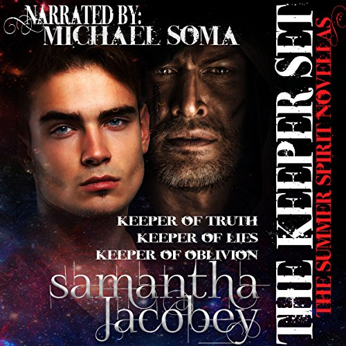 The Keeper Set     Summer Spirit Novellas 7-9              By:                                                                                                                                 Samantha Jacobey                               Narrated by:                                                                                                                                 Michael Soma                      Length: 6 hrs and 2 mins     Not rated yet     Overall 0.0