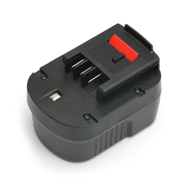 敏感なデコラティブ道徳教育【POWERGIANT】ブラックアンドデッカー(BLACK+DECKER)12V 3000mAh A12 HPB12 A12EX スライド ニッケル水素 互換バッテリー 一年品質保証
