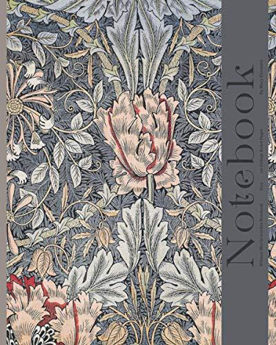 William Morris Notebook: Vintage Design College Ruled College Ruled 8x10 120 Lined Pages (William Morris Textile Notebooks) Minnesota