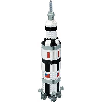 ナノブロック サターンVロケット NBH_130
