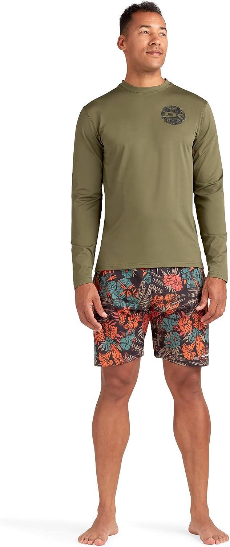 Mission Loose FIT Long Sleeve Rashguard SURF Shirt Crew