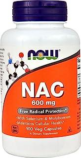 Now Foods Nac-Acetyl Cysteine (NAC), 100 Caps 600 mg