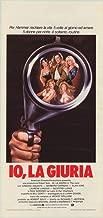 I the Jury Movie Poster (27 x 40 Inches - 69cm x 102cm) (1982) Italian -(Armand Assante)(Barbara Carrera)(Laurene Landon)(Alan King)(Geoffrey Lewis)(Paul Sorvino)