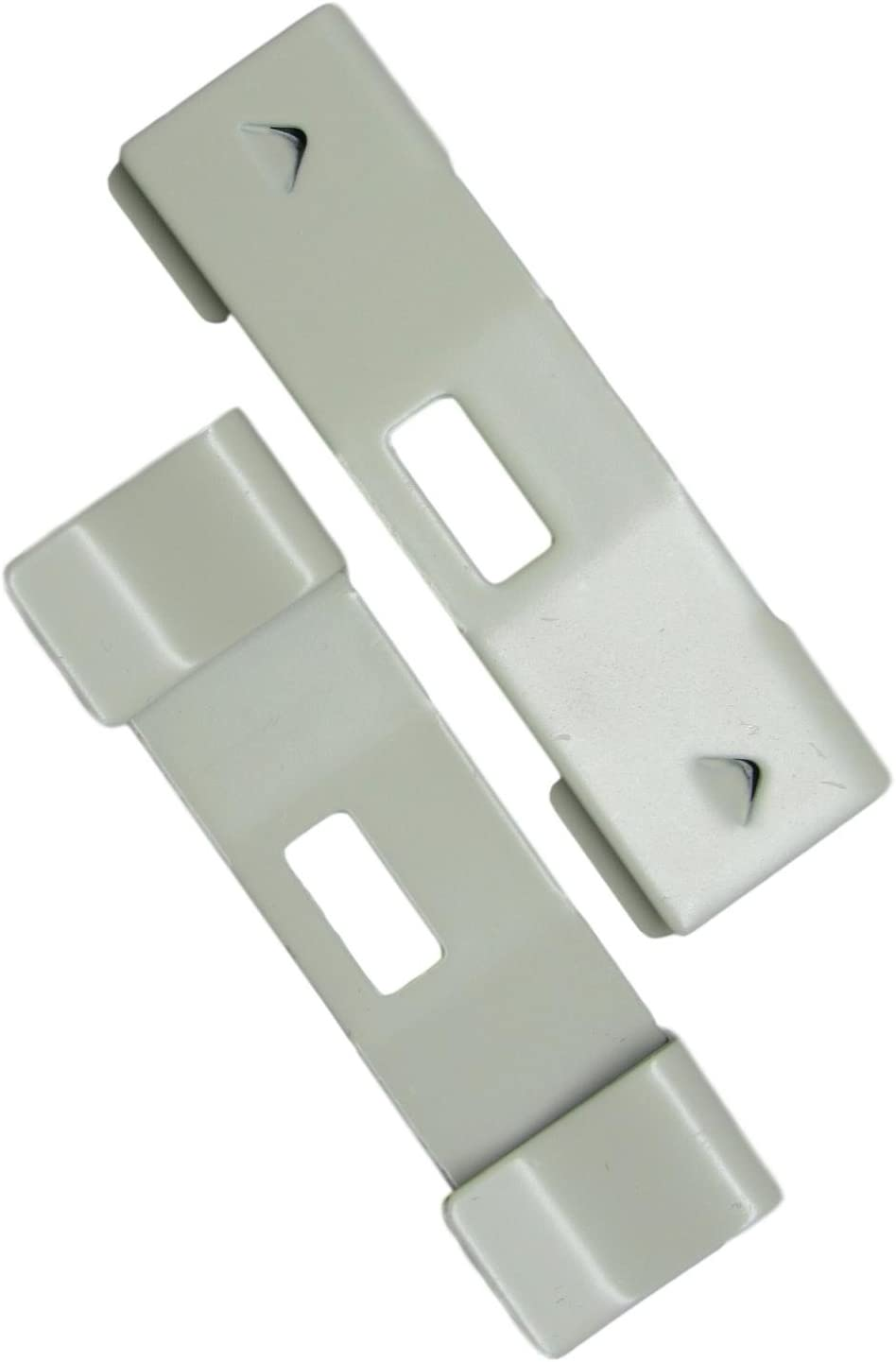 20 Pack Vertical Blind Vane Saver ~ Curved Ivory unisex Ranking TOP20 Repair Clips