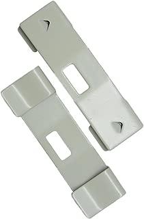 36 Pack Vertical Blind Vane Saver ~ Ivory Curved Repair Clips ~ Fixes Broken