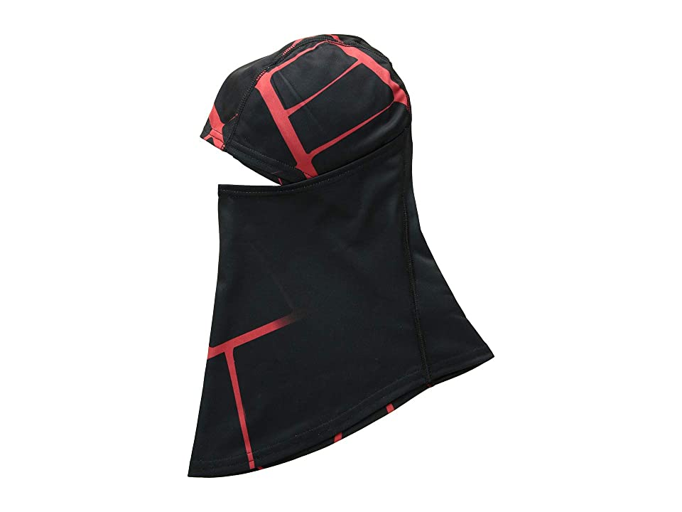 Spyder T-Hot Pivot Balaclava (Black/Red 1) Knit Hats