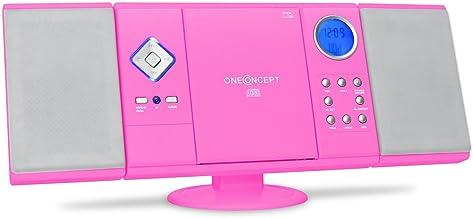 oneConcept V-12 - Cadena estéreo, minicadena, para niños,