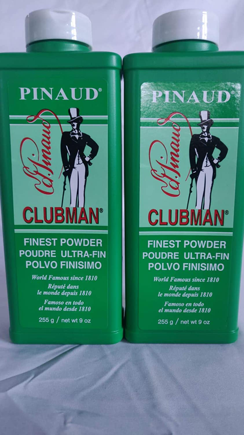 Pinaud Clubman Powder Cheap mail order shopping 9 oz of sold out Pack 2