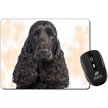 Chocolate Cocker Spaniel Dog Computer Mouse Mat Christmas Gift Idea AD-SC4M