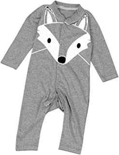 Toddler Baby Boys Girls Cartoon Dinosaur Hooded Zipper Pocket Tops Clothes Coat ALIKEEY Baby Hoodies