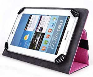 Acer Iconia One 8 B1-820 Tablet Case, UniGrip Edition - Pink - by Cush Cases