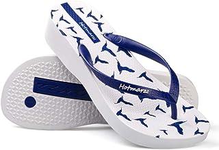 0fd70342f Womens Platform Sandals Fashion Animal Prints Seagulls Slippers Summer  Beach Wedge Flip Flops