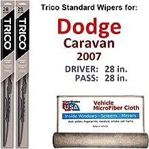 Best 2007 dodge caravan wiper blade size Reviews