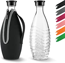 Siegvoll Skyddshölje för SodaStream Crystal glaskaraff 0,615 L   Brottskydd neoprenfodral för SodaStream Crystal glasflask...