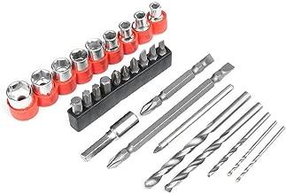 Taille : 16mm Accessoires de perceuse Extra Long 350mm Diam/ètre 7-16mm HSS Auger Twist Foret queue cylindrique Foret