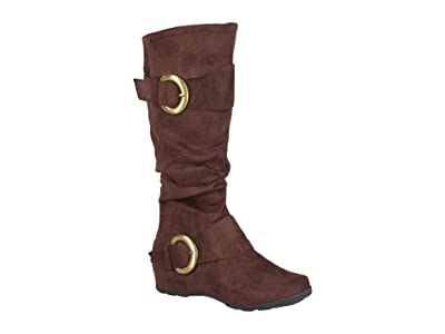 Journee Collection Jester-01 Boot (Brown) Women