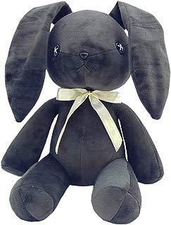 COSPROFE Anime Yosuga no Sora Rabbit for Cosplay Bunny Plush Doll Rabbit Stuffed Animal Toys,12'' (Dark Grey)