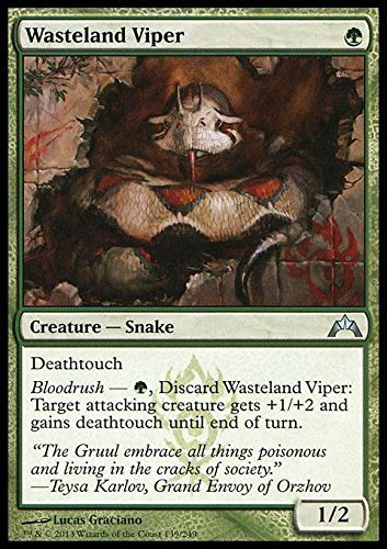 Magic The Gathering - Wasteland Viper (139) - Gatecrash