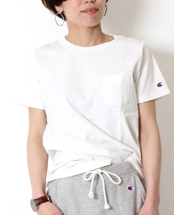 気分が良い受け皿よく話されるChampion チャンピオン Tシャツ レディース 半袖 クルーネック 丸首 CW-M321