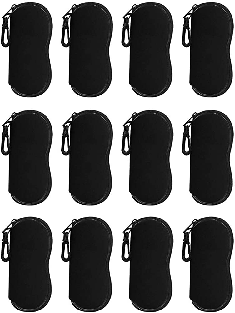 Foam Eyeglass Case For Anywhere/Everywhere Storage, Wholesale Lot of 12.