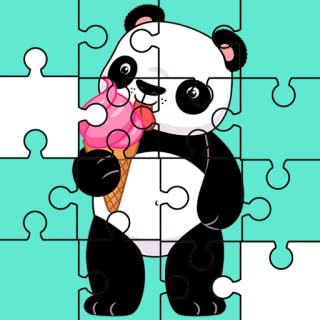 Puzzle Jigsaw Baby Panda For Kids