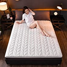 4cm Thick Waterproof Mattress Protector Latex-Filled Mattress Pad Futon Protective Mattress Anti-Slip Four Season Soft Bre...