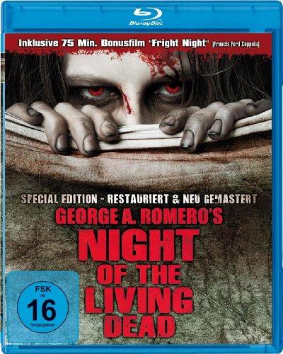 Night of the living dead (+ Bonusfilm: Fright Night) [Alemania] [Blu-ray]