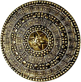 Forum Novelties Roman Shield, Gold