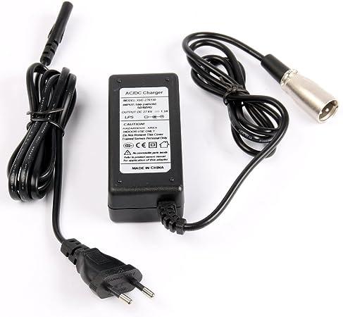 24 V 1,3 A Cargador para 2 x Baterías de plomo 12 V/para ...