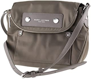 Preppy Nylon Crossbody, Quartz Grey