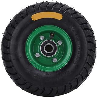 Tyre Wheel, Hand Truck Utility Tyre Wheel Rubber Hand Truck Wheel met 6204-2RS Gereedschapswagen Opblaasbare Band 10.5in ...