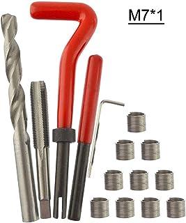 Kit de inserção de rosca métrica GoolRC 15 peças M3 M4 M7 M9 M11 Helicoil Car Pro Coil Tool M7 1