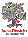 flower mandalas adult coloring book: Stress Relieving & relaxation, fun & Perfect Gift Ideas.