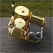 Pretty-GENTLE Clockwork Type Movements Parts DIY Music Box Music Movement Set 18 Tones Melody Gift,Romeo and Juliet